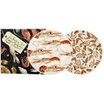 Teller 2er Set 21,5cm - Langusten & Shrimps