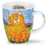 Becher Happy Cats rotblond - 0,48l