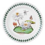 Speiseteller - 25cm White Water Lily