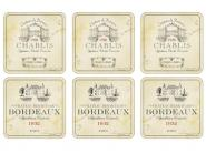 Vin de France - Untersetzer