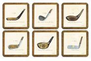 History of Golf - Untersetzer