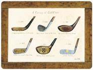 History of Golf Tischsets - 4er 30x40cm