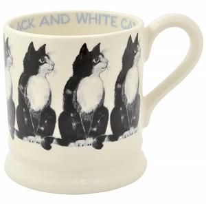 ½ Pint Becher Black & White Cat - 0,3l