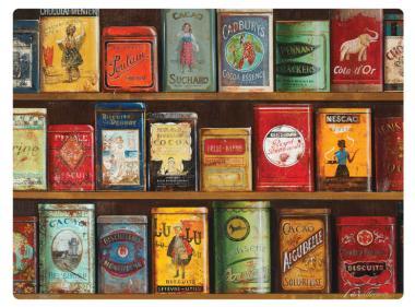Vintage Tins - Tischsets 6er 23x30cm