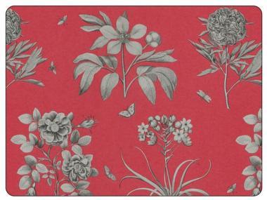 Etchings & Roses Red - Tischsets 4er 30x40cm
