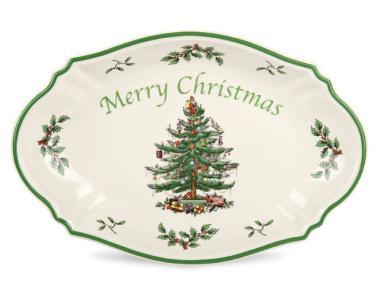 Merry Christmas Schale - 28cm