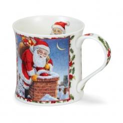 Becher Season's Greetings Santa - 0,3l