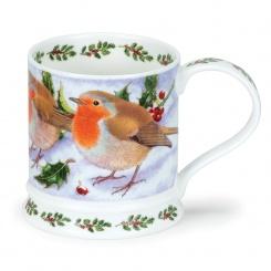Becher Festive Birds Robin - 0,4l
