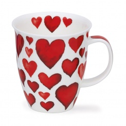 Becher Hearts Red - 0,48l