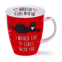Becher Loved Up Cat - 0,48l