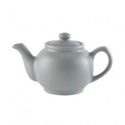 Teekanne matt grey