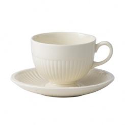 Kaffeetasse & Untertasse Edme - 0,19l