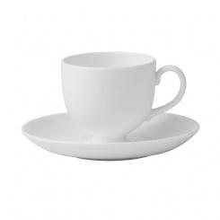 Kaffeetasse & Untertasse White - 0,15l