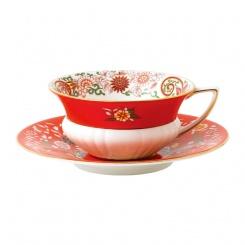 Teetasse & Untertasse Crimson Orient - 0,3l