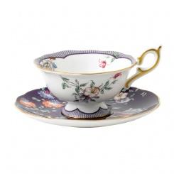 Teetasse & Untertasse Midnight Garden - 0,3l