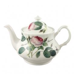 Teekanne rund Redoute Rose 0,9l