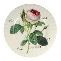 Speiseteller Redoute Rose - 27cm