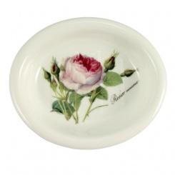 Seifenschale Redoute Rose - 12,5cm