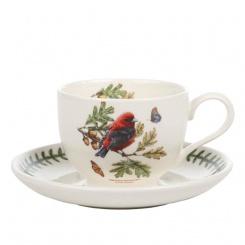 Kaffeetasse & Untere Botanic Birds - 0,2l Scarlet Tanager