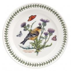 Speiseteller Botanic Birds  - 25cm Lesser Goldfinch