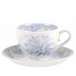 Kaffeetasse & Untere Blue Asiatic Pheasants - 0,19l
