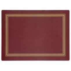 Red Melamin Tischsets - 30 x 40cm