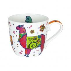 Becher Colourful Animals Lama - 0,45l