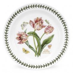 Speiseteller Botanic Garden - 25cm Pink Parrot Tulip