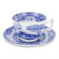 Frühstückstasse & Untere Blue Italian - 0,28l