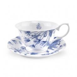 Kaffeetasse & Untere Botanic Blue - 0,17l