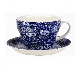Frühstückstasse & Untere Blue Calico - 0,42l