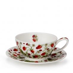 Teetasse & Untertasse Strawberry - 0,2l