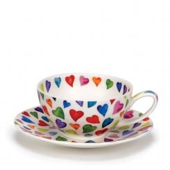 Teetasse & Untertasse Warm Hearts - 0,2l