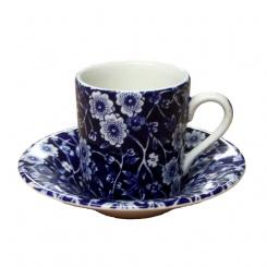 Espressotasse & Untere Blue Calico - 0,1l
