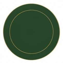 Bottle Green - Tischsets rund