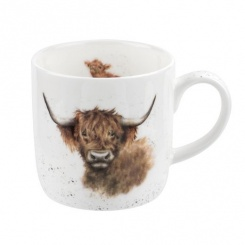 Wrendale Becher Highland Coo - 0,31l