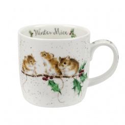 Wrendale Becher Winter Mice - 0,31l