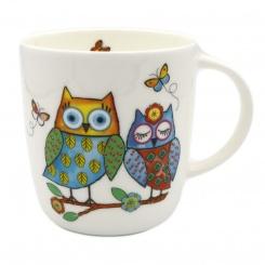 Becher Happy Owls Team - 0,38l