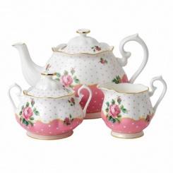 Teekanne Milch Zucker - 3er Set Cheeky Pink