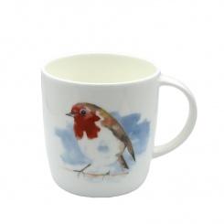 Becher Watercolour Robin - 0,38l