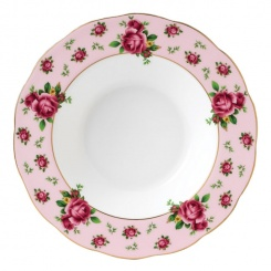 Suppenteller Country Roses Pink - 24cm