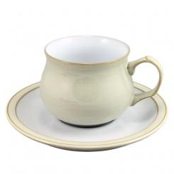 Kaffeetasse & Untertasse Linen - 0,2l