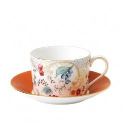 Tasse & Untertasse Rococo Flowers - 0,2l