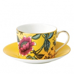 Tasse & Untertasse Yellow Tonquin - 0,2l