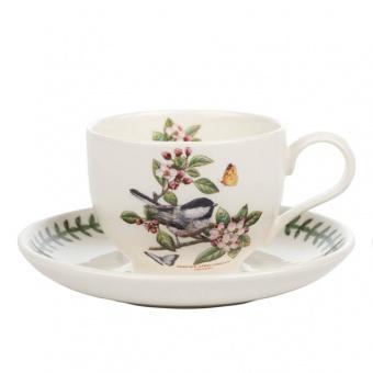 Kaffeetasse & Untere Botanic Birds - 0,2l Chickadee