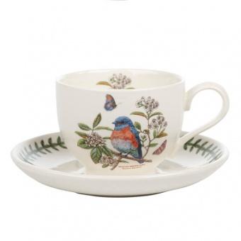 Kaffeetasse & Untere Botanic Birds - 0,2l West Bluebird