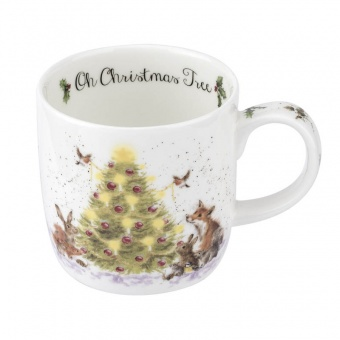 Wrendale Becher Oh Christmas Tree - 0,31l