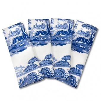 Stoffservietten Blue Italian - 4er Set