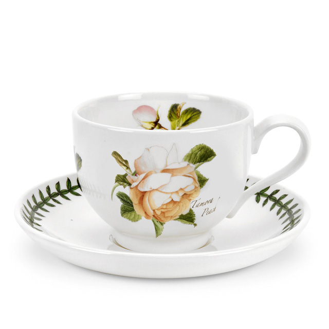 Kaffeetasse & Untertasse - 0,2l Tamora Peach