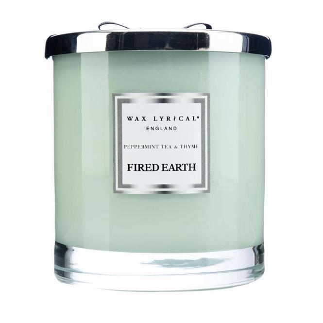 Pfefferminz Tee & Thymian - Duftkerze 11,5cm